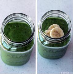 cucumber kale avocado banana smoothie - used spinach, skipped avocado - pretty good