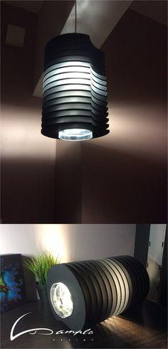 Foam board lamp