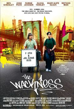 "Set on the Upper East Side, ""The Wackness"", is a new twist on the common coming of age theme. ""What new twists?"" you ask. Well, while many of us had a summer job, I don't know anyone who sold marijuana out of an ice cream pushcart."