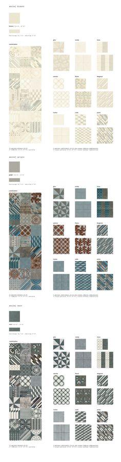 Mutina ceramiche & design | azulej Patricia Urquiola