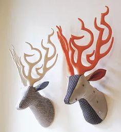 MAYUMI TSUZUKI illustrations , fabric works   Fabric trophy