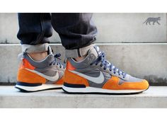 Nike Internationalist Mid (Light Ash / Light Ash Grey - Copper Flies)