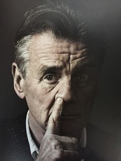 Happy Michael Palin Photo by Andy Gotts