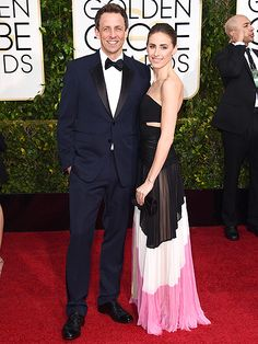 And the Awards for the Cutest Couples Go To … | SETH & ALEXI | It's going to be a late night, but Late Night host Meyers doesn't mind with wife Ashe at his side.
