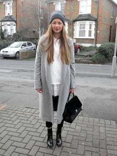 Sometimes all you need is an awesome winter coat, which is why Helene Ø. Sunde is our LOOK Of The Day http://lookm.ag/yf7xHl