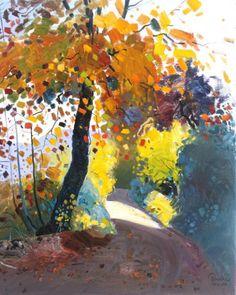 Autumn, 74 x 60 cm, oil - Pashk Pervathi