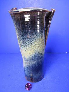 Studio Keramik - signiert - Vase - tolle Glasur - 22 cm handgedreht