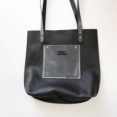 Excited to share this item from my #etsy shop: Black leather tote, tote bag, Grey, leather handbag, shoulder bag, handmade, designer, messenger #black #grey #leather #tote #studiokoak Black Leather Tote, Sustainable Fashion, Leather Handbags, Shoulder Bag, Tote Bag, Accessories, Leather Purses, Carry Bag, Tote Bags