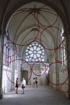 Felice Varini's Huge Installations Are All About Your Point Of View