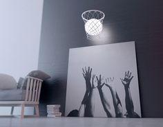 Basquete iluminado designer ucraniano Andrey Privalov