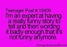 Not just a teenage problem.