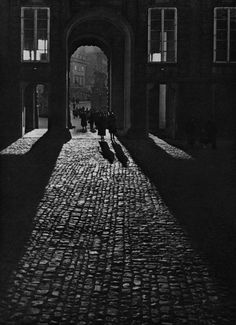Josef Sudek - View of the First Courtyard through the Matthias Gate, date unknown From Josef Sudek: Poet Of Prague kvetchlandia, lushlight & liquidnight Old Photography, Artistic Photography, Street Photography, Josef Sudek, Austro Hungarian, Famous Photographers, Ansel Adams, Black And White Photography, Old Photos