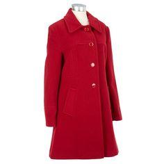 a0b20c4a3f2 Single-breasted Wool-blend Walker Coat Burlington Coat Factory