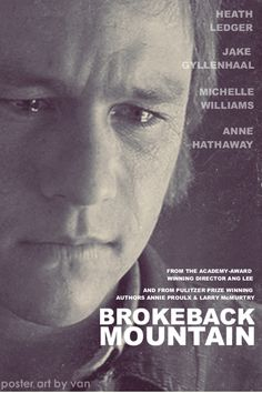 """He pressed his face into the fabric and breathed in slowly through his mouth and nose, hoping for the faintest smoke and mountain sage and salty sweet stink of Jack but there was no real scent, only the memory of it, the imagined power of Brokeback Mountain of which nothing was left but what he held in his hands."" - Annie Proulx, Brokeback Mountain"