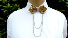 wooden women's bow tie,new product,women's accessories,casual wear, formal,wooden bow tie, birthday gift,unique 3-in-one gift,chocker, by DKexclusive on Etsy