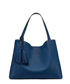 Thea Center Zip Tote - Tidal Wave