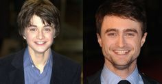 Nov. 16 marks the 12-year anniversary of the U.S. release of the first Harry Potter, so we compared how the characters looked then versus now.
