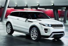Range Rover Evoque Coupè.