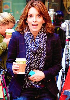 Tina Fey paparazzi face. I've been looking everywhere for this!