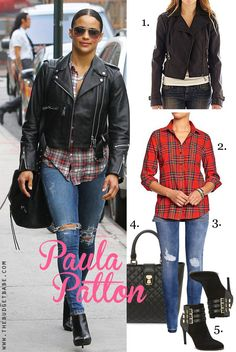 Paula Patton's casual style for less