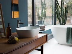 When looking for a countertop basin to complete your bathroom you need look no further than Clearwater's Formoso Clearstone basin. This basin can contribute… Countertop Basin, Countertops, Wall Mounted Taps, Tropical Bathroom, Relaxing Bathroom, Natural Bathroom, Complete Bathrooms, Budget Planer, Bathroom Basin