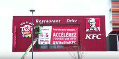 ハッシュタグの数が多いほど新店OPENの工期短縮!フランスKFCが仕掛けた「Social opening」 | AdGang