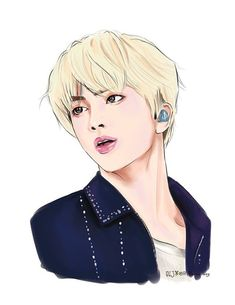 When I thought worldwide handsome couldn't get any more handsome Bts Chibi, Kpop Fanart, Bts Jin, Bts Anime, Kpop Drawings, Animation, Billboard Music Awards, Worldwide Handsome, Namjin