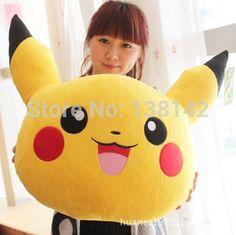 Pokemon Pikachu de pelúcia almofada travesseiro brinquedo de pelúcia boneca para Crianças ou namorada para presentes
