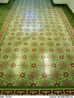 Mosaic Del Sur cement tiles