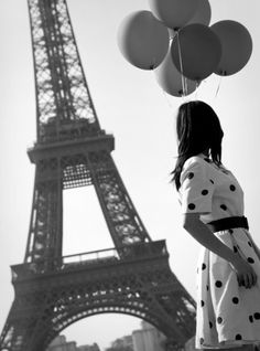 I want to take a picture with balloons in front of the Eiffel Tower! http://matchbookmag.com/