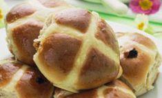 low-sugar hot cross buns