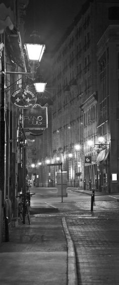 On the wish list for places to visit: Montreal, Quebec
