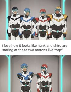 Keith doesn't like u Lance, stop flirting