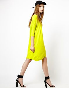 Monki Exclusive Long Sleeve Dress