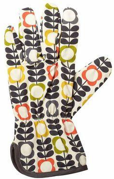 print & pattern: NEW SEASON - orla kiely #gardening #pattern #design #glove #fashion #style #accessories