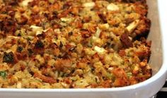 Pumpkin and herb stuffing just may be your new secret family recipe!  Marcus Samuelsson