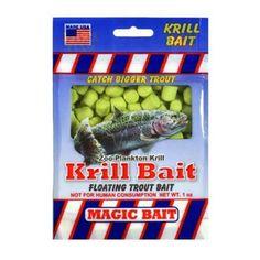 Magic Bait S-141 Krill Trout Bait - Chartreuse - 1 OZ