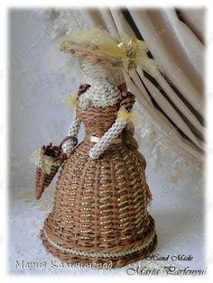 Поделка изделие Вязание крючком Плетение 3 года моему хобби Трубочки бумажные фото 23