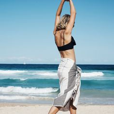 Hands in the air and dance on the beach with our CO:HOME Turkish Towel || Cotton On || 2016 || Summer Fashion