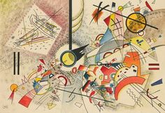 Wassily Kandinsky. No Title, 1923