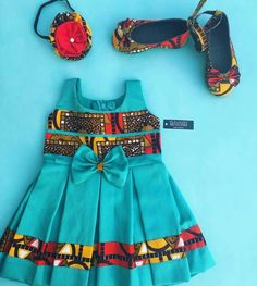 Ankara styles are one of the best common African clothing trends for both men and women of all ages, which it is not that surprising that Ankara African Dresses For Kids, African Children, African Print Dresses, African Print Fashion, African Fashion Dresses, Little Girl Dresses, Baby Dresses, African Babies, African Attire