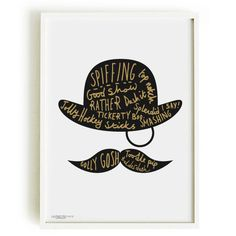 Quality Gentleman Print A4  home decor by OldEnglishCo on Etsy, £15.00