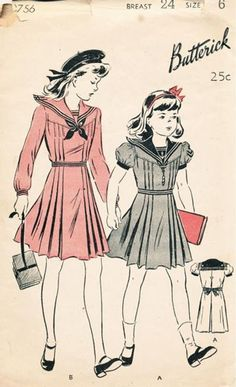 Butterick 2756 from 1943