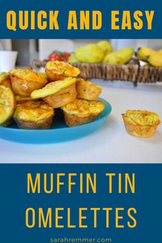 If you are as busy as I am, I am sure you will love this vitamin and protein rich snack that is super easy to make! I add these egg muffins to any meal! #egg #snack #breakfast