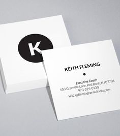 square business cards business cards pinterest business