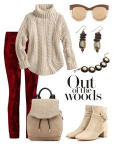 Woods. by schenonek on Polyvore featuring polyvore, fashion, style, Haider Ackermann, Gianvito Rossi, rag & bone, Invicta Jewelry, NOVICA, Linda Farrow and clothing