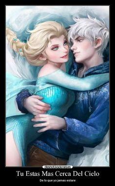 carteles amor disney frozen jackfrost elsa hielo desmotivaciones