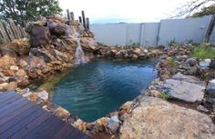 Byron Bay natural Pool by Philip Johnson landscapes