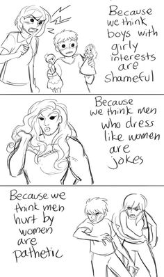 Sexism goes both ways. Feminism helps both. - Imgur
