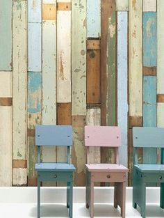 Scrapwood Wallpaper PHE-03 by Piet Hein Eek | Removable Wallpaper Australia